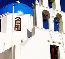 Church in Blue by Shinrai