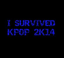 I SURVIVED KPOP 2K14 ROUGH - BLACK by Kpop Love