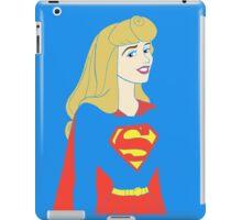Princess Aurora as Supergirl iPad Case/Skin