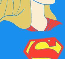 Princess Aurora as Supergirl Sticker