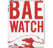 BAE WATCH iPad Case/Skin