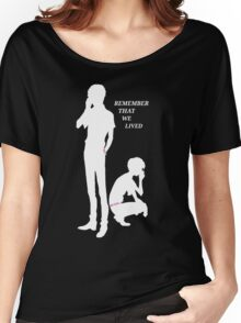 Remember Us - Nine and Twelve Women's Relaxed Fit T-Shirt