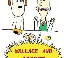 Wallace and Butthead by lehamburger