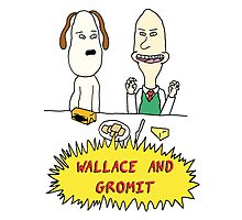 Wallace and Butthead Photographic Print