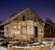 Old Farmhouse by Mark Van Scyoc