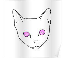 a cat, bruh Poster