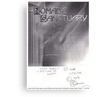 LUCID EDEN CD COVER DESIGN - NEVER USED(C DEC 31 2004) Canvas Print