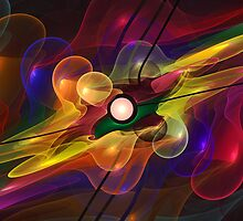 'Light Flame Abstract 228' by Scott Bricker