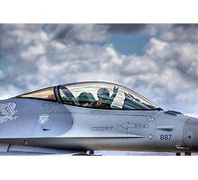 Falcon Pilot Photographic Print
