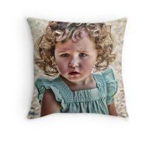 The Matchstick girl Throw Pillow