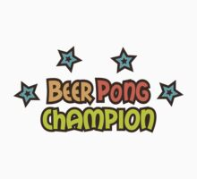 Beer pong champion by Mhea