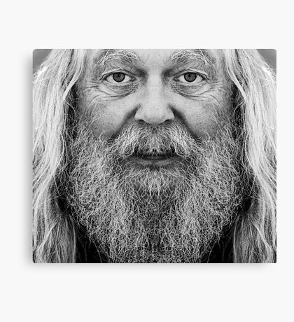 The old man Canvas Print