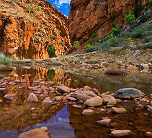 Glen Helen Reflections by Steven Pearce