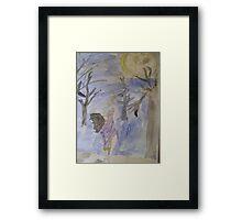 Dancing Under The Full Moon Framed Print
