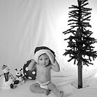 1yr. old Christmas Photo by Brooke Triplett