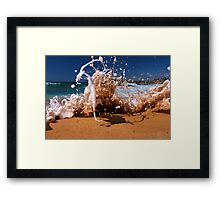 King High Tide / Mona Vale Framed Print