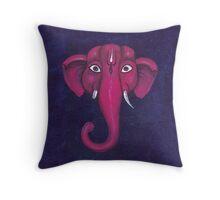 Elephant. Lord Ganesha.  Throw Pillow