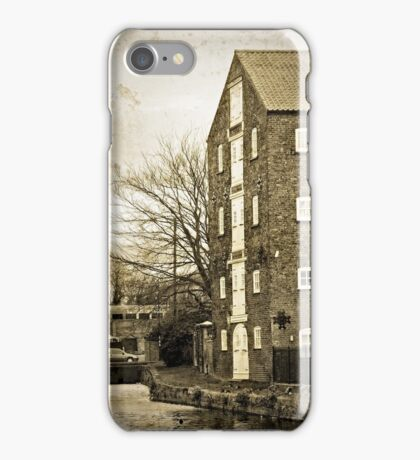 Driffield Canal Head iPhone Case/Skin