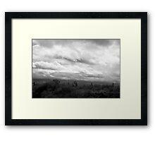 Roadside Skywatch Framed Print