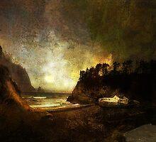 Oregon Beach by Jeff Burgess