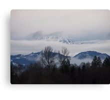 Olympics Barely There Canvas Print