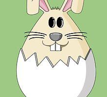 Easter Bunny Egg by Shawn Lokkart
