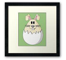 Easter Bunny Egg Framed Print