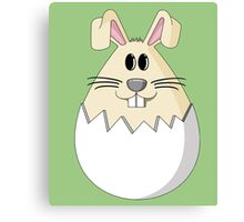Easter Bunny Egg Canvas Print
