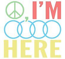Peace, I'm Outa Here Photographic Print