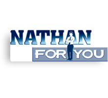 Nathan for You title Canvas Print