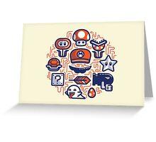 Mario Essentials Greeting Card