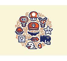 Mario Essentials Photographic Print