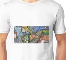 ARTIST IN ABSTRACT LANDSCAPE(C1998) Unisex T-Shirt