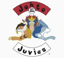 Shiny Beastie Johto Juvies One Piece - Short Sleeve