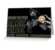 Dark Side Greeting Card