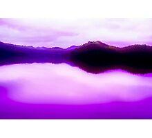 Purple Alive Photographic Print