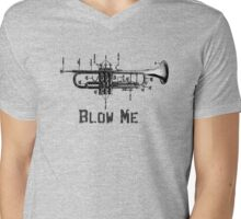 Blow Me Mens V-Neck T-Shirt