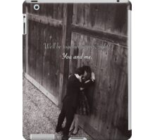 Alex and Jo - Forever together iPad Case/Skin