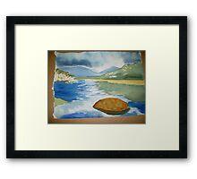 tidal river 2 Framed Print