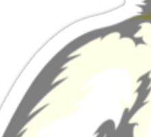 White Rabbit Sticker