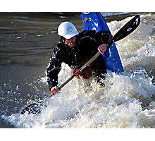 Kayaking on the Long Tom River #1 Photographic Print