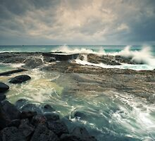 The day of the storm by Mel Brackstone