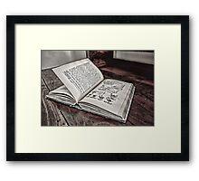 Living History Framed Print