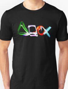 Playstation Symbols Light Painting T-Shirt