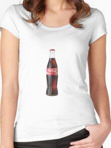 Coke Women's Fitted Scoop T-Shirt