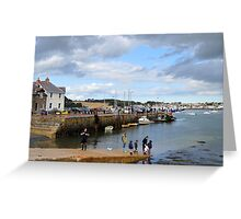 Summer Days in Strangford Greeting Card