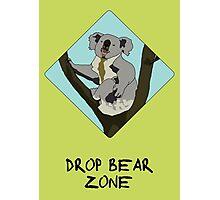 Drop Bears Preservation Society Photographic Print