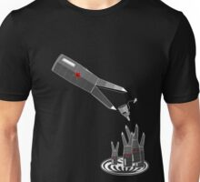 Feeding time at evil headquarters Unisex T-Shirt