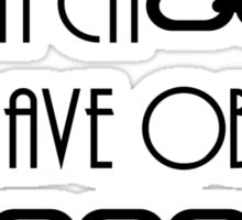 Chains of slave Sticker