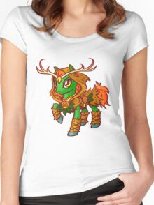 Druid Pony Women's Fitted Scoop T-Shirt